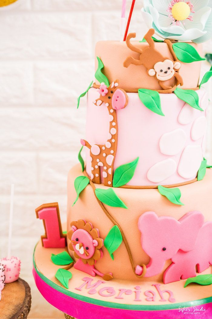 Photo of Tropical Safari Birthday Party | Kara's Party Ideas