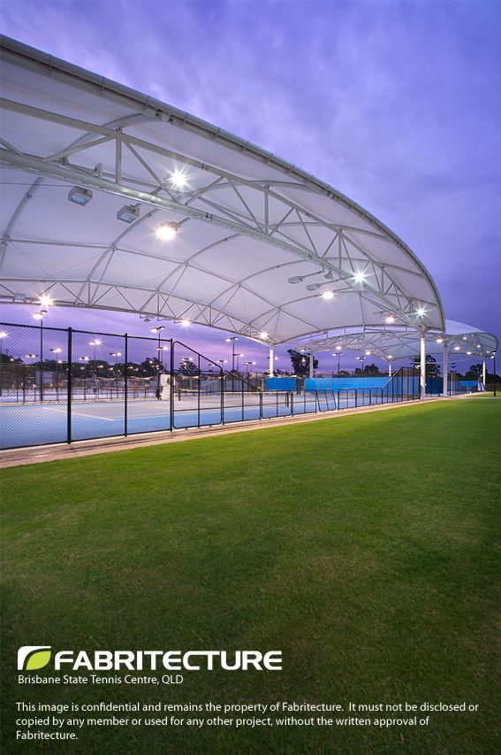 Fabritecture Fabric Structure Tennis Tennis Court