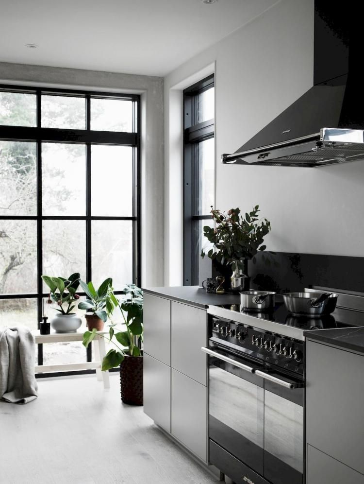 80+ ADMIRABLE SCANDINAVIAN KITCHEN DECOR IDEAS #kitchen