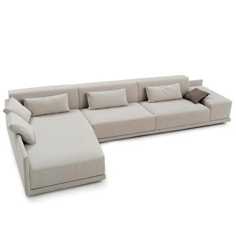 Sofa L Form Beige