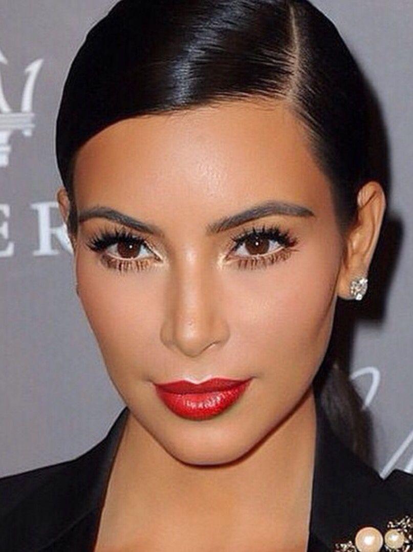 Makeup Soft Glam Kim Kardashian Makeup Kardashian Makeup