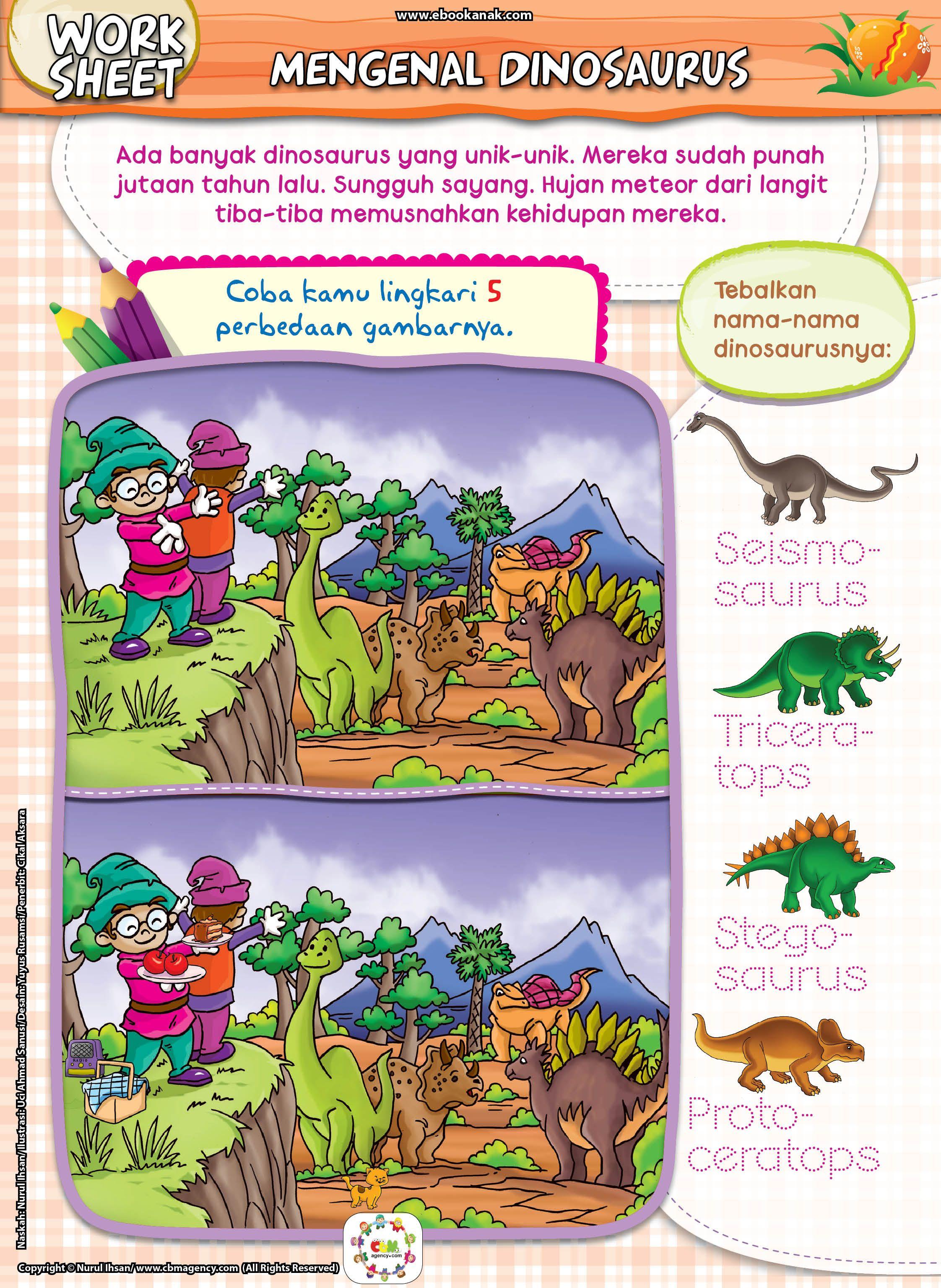 Mengenal Dinosaurusada Banyak Dinosaurus Yang Unik Unik