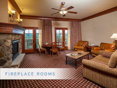 Little River Casino Resort   Fireplace Room