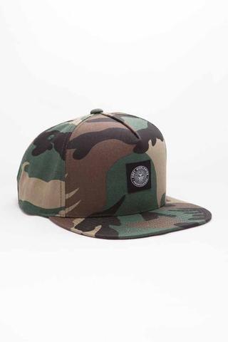 Obey Downtown  Snapback - Field Camo 5 Panel Hat 09e4494cb50b