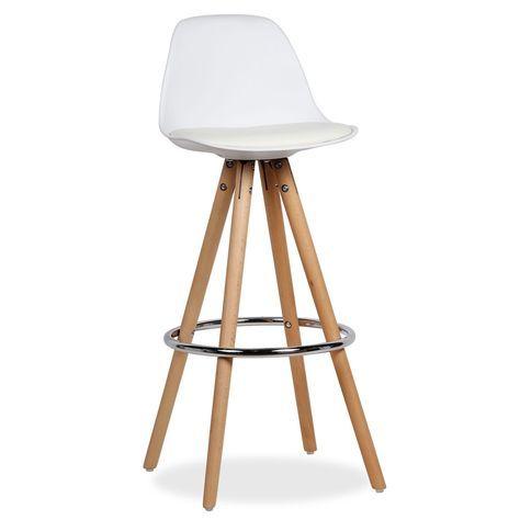 Taburete WOOD WHING -PU- (Taburetes) - Sillas de diseño, mesas de - mesas de diseo