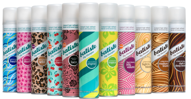 What's In Her Stocking? Batiste dry shampoo, Using dry