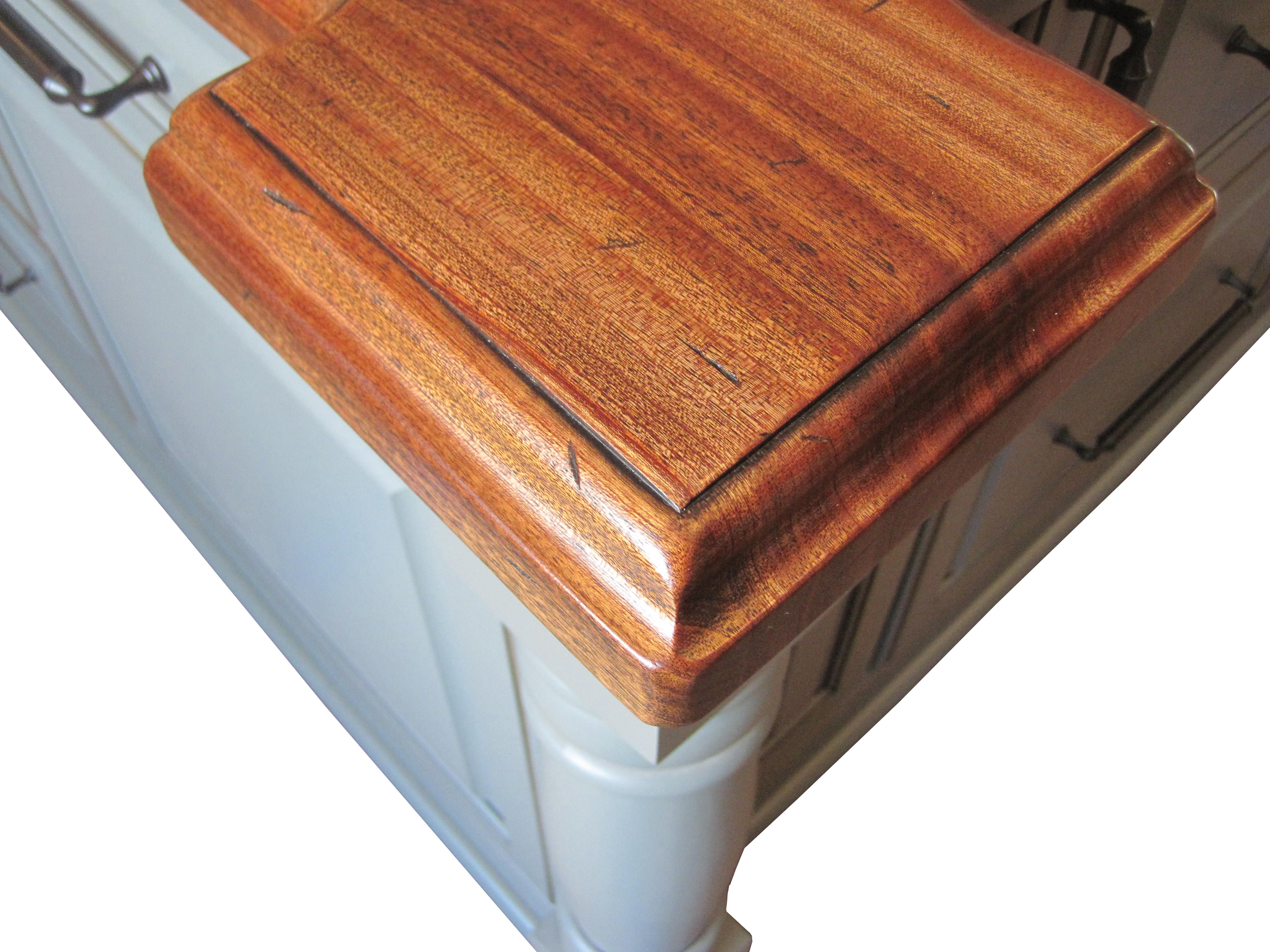 Distressed Wood Countertops Wood Countertops How To Distress