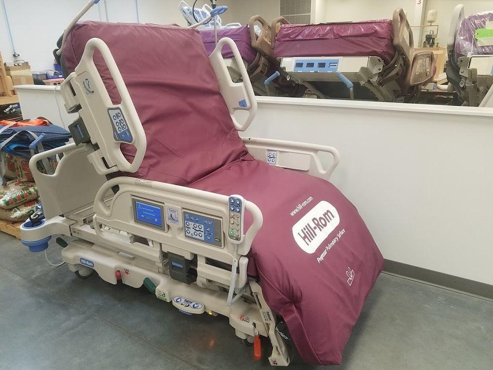 Hill Rom Progressa Pulmonary Medical Hospital Bed with Air