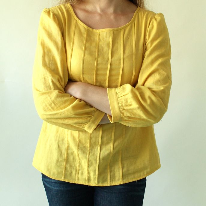 Josephine Blouse & Tunic Sewing Pattern - Made By Rae