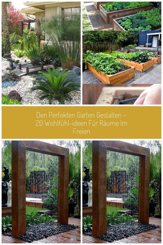 Den Perfekten Garten Gestalten 20 Wohlfhl Ideen Fr Rume Im