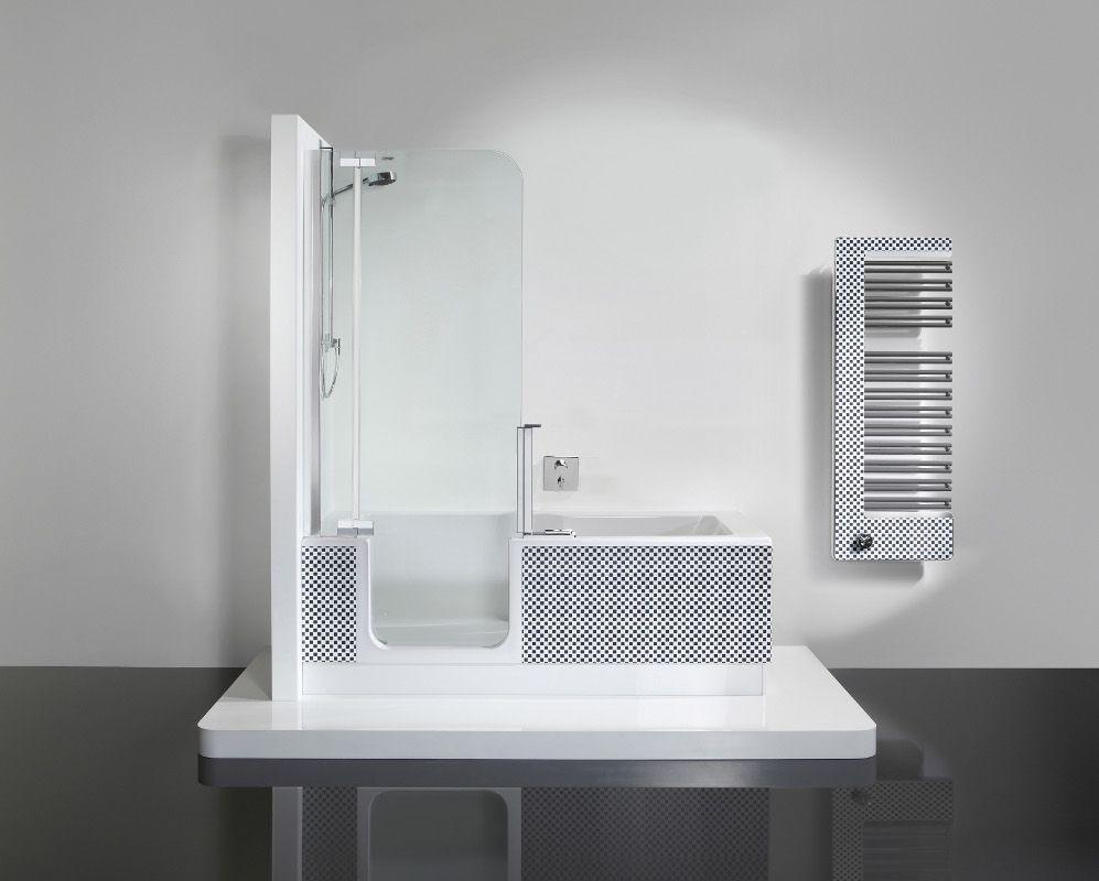 Le comin bain douche twinline 2 salle de bain pinterest - Combi douche baignoire ...