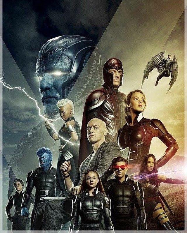 Nuevo Poster Promocional De X Men Apocalipsis Con Todo Su Plantel X Men Apocalypse X Men Marvel Xmen