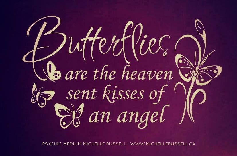 Adam & eve butterfly kiss