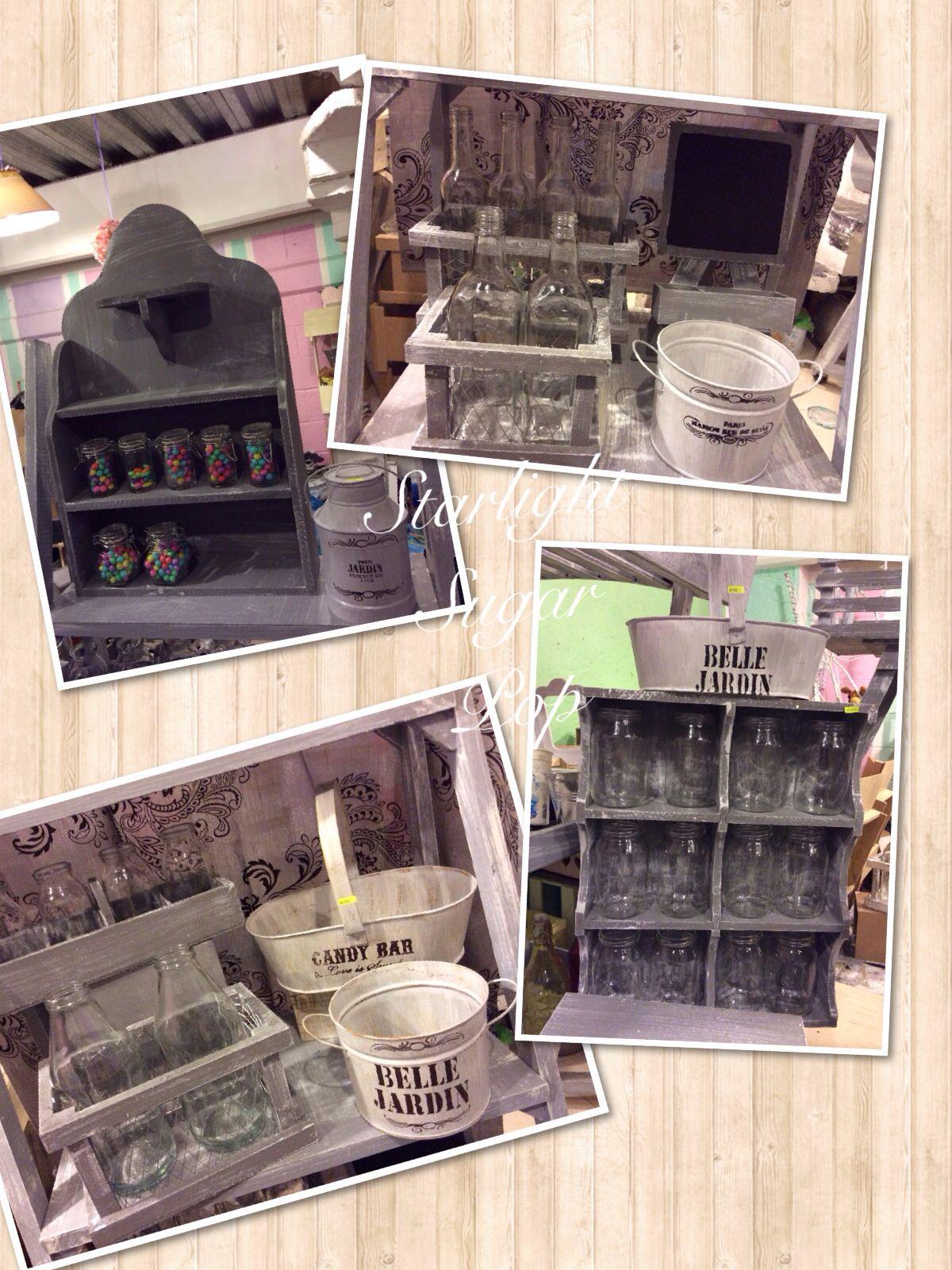 Accesorios para mesas de dulces vintage creados por for Accesorios de decoracion