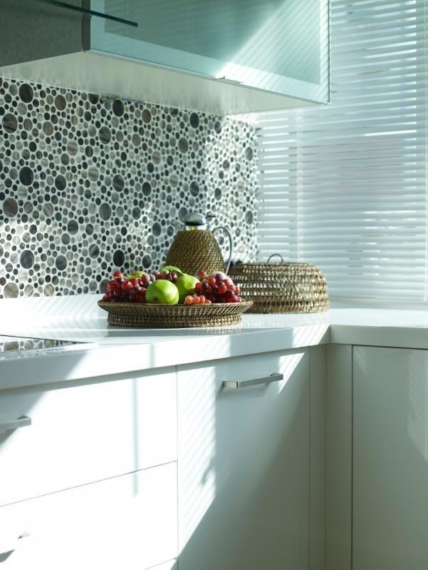 Modern Glass Tile Backsplash For Kitchens | Tile patterns, Tubs and ...