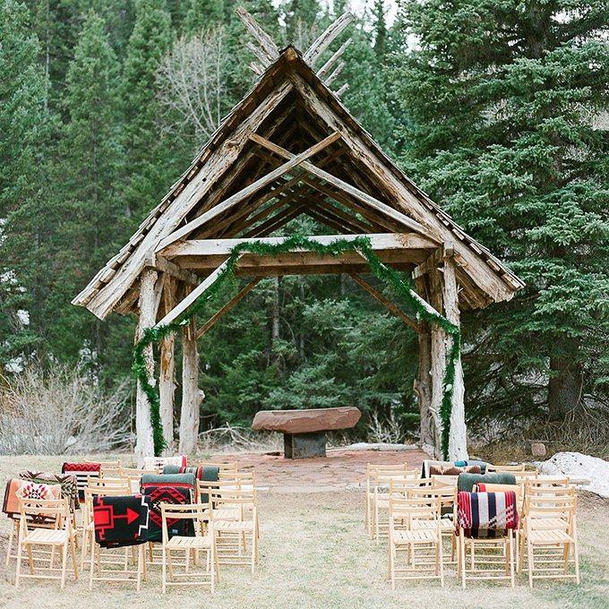 Rustic Wedding Altar Ideas: 60 Amazing Wedding Altar Ideas & Structures For Your