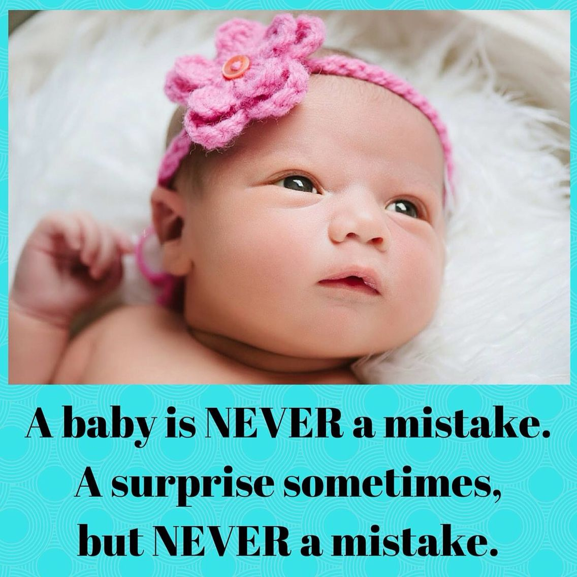 Never A Mistake