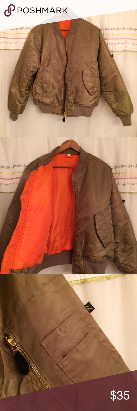 Sold Nwot Rothco Ma 1 Reversible Flight Jacket Flight Jacket Rothco Jackets [ 1740 x 580 Pixel ]