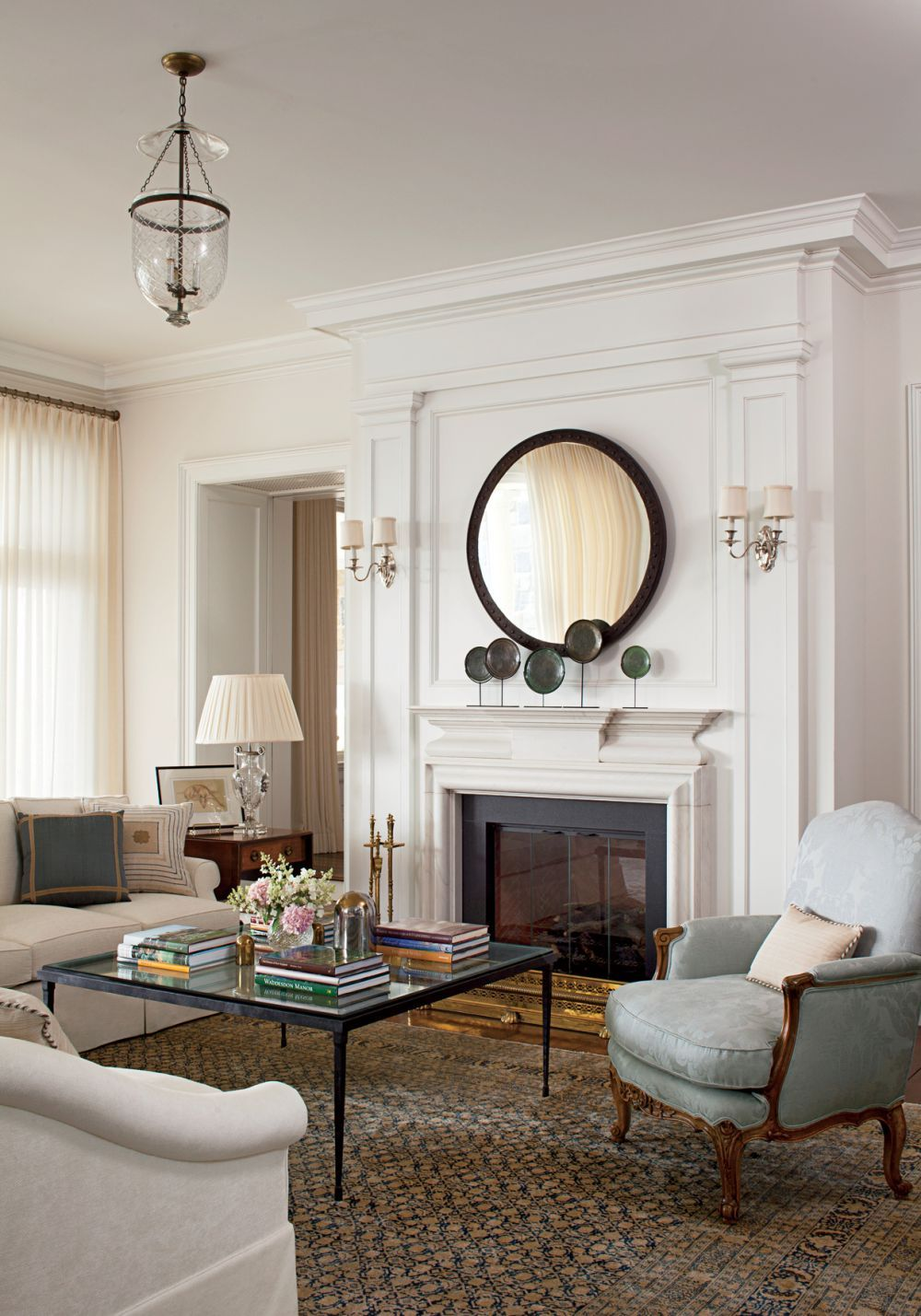 Traditional Living Room by Gomez Associates Inc. and Kean Williams ...