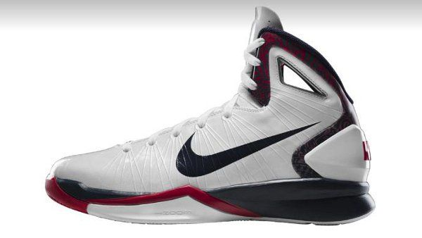 Nike Hyperdunk 2010 Womens White Navy Red � Basketball ShoesNike