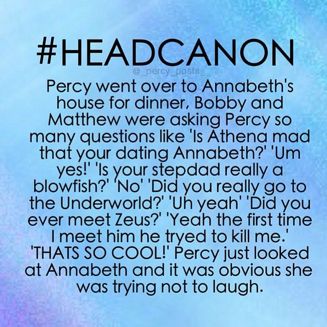 Annabeth's Little brothers