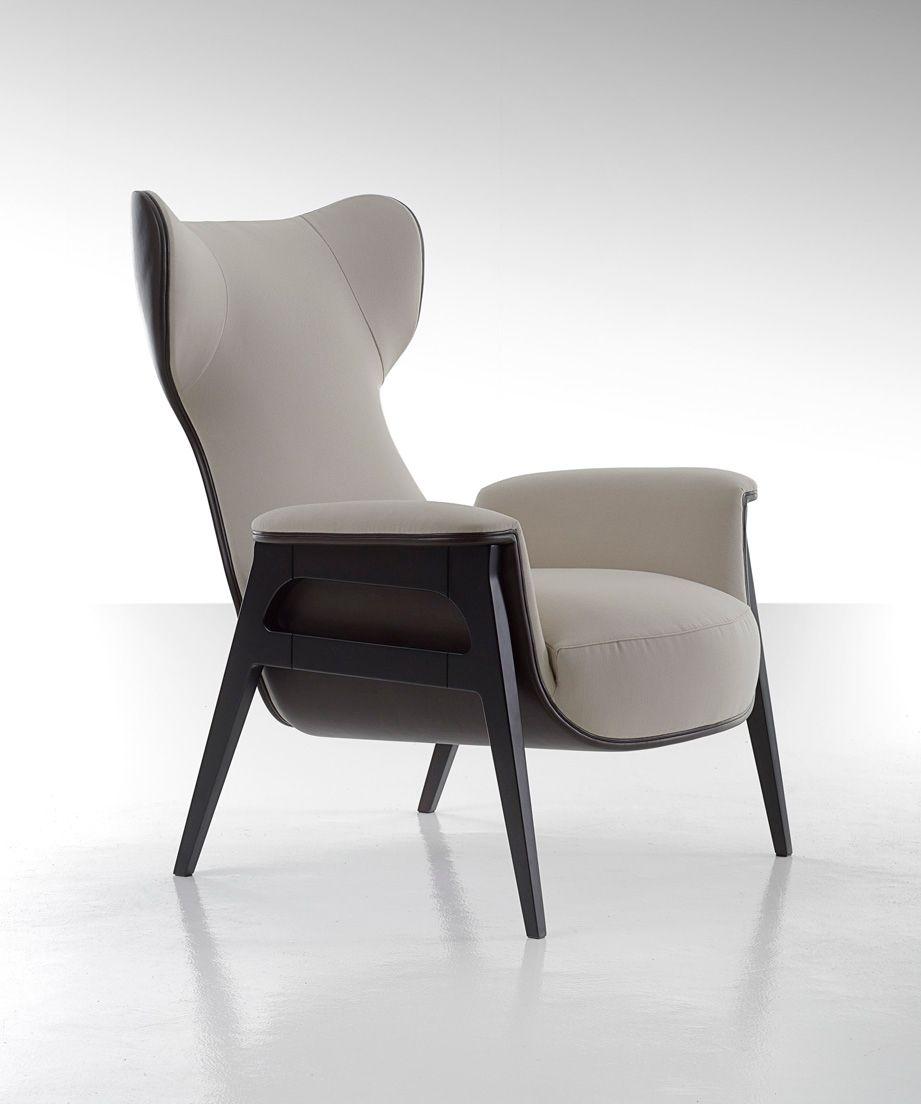 Fendi Casa Cerva Lounge Chair By Dimitri Rybaltchenko Lounge Chair Design Armchair Furniture Modern Lounge Chair Design