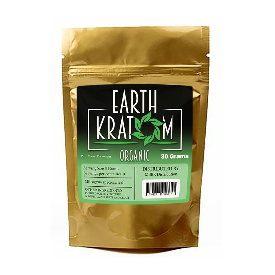 Buy herbal highs - Earth Kratom 30 Gram Powder Botanical Herbal Powder 30 Grams Of High Quality Kratom Leaf Per