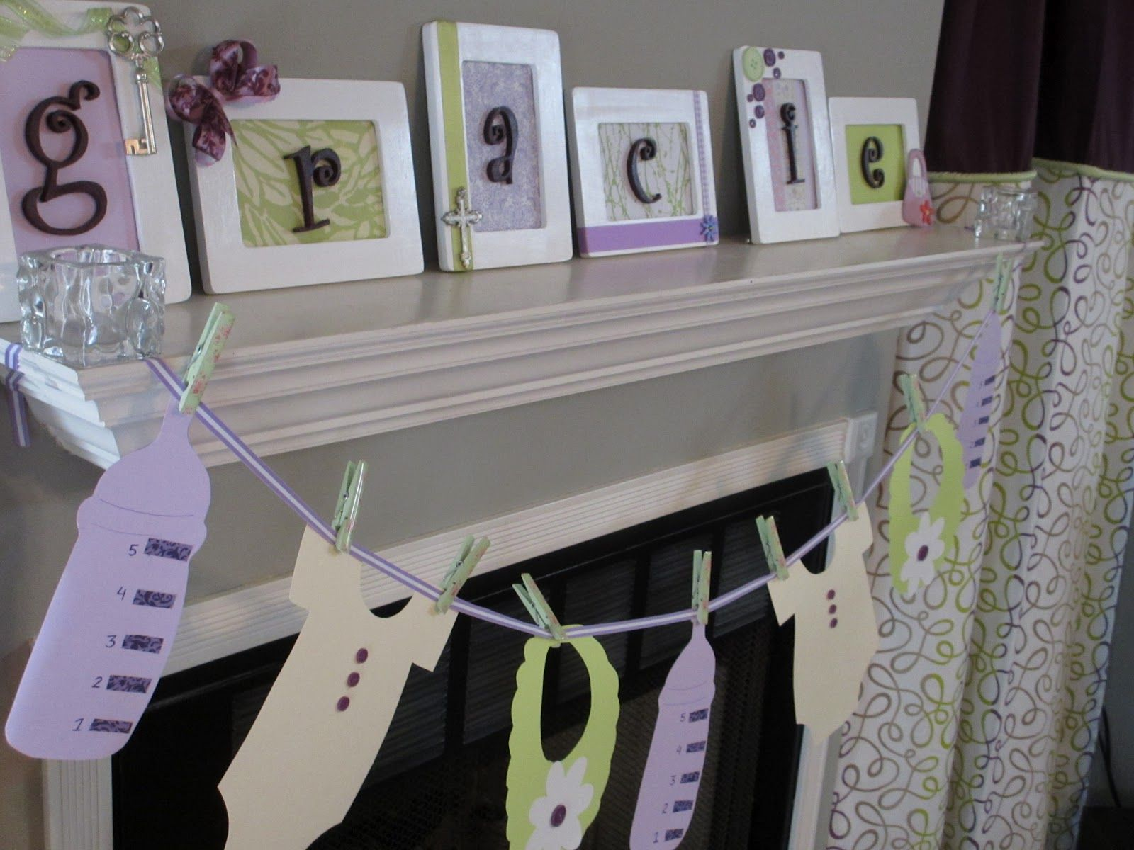 Lavender Baby Shower Decorations 103 Best Images About Baby Shower Green And Purple On Pinterest