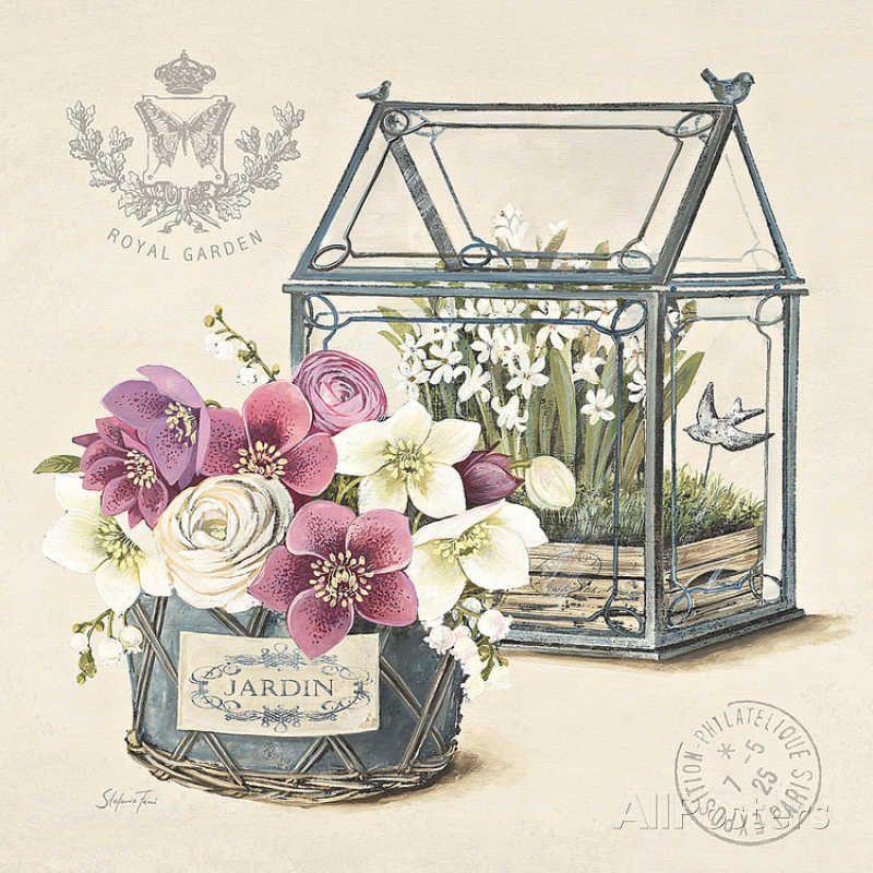 Dan mon Jardin Affiches par Stefania Ferri sur AllPosters.fr