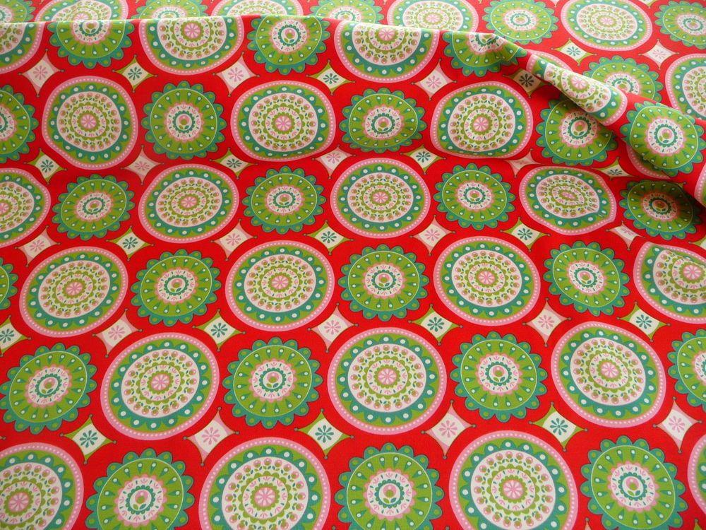 jersey kinderstoffe baumwolle elastan tante ema kreise rot rosa gr n fabrics for kids. Black Bedroom Furniture Sets. Home Design Ideas
