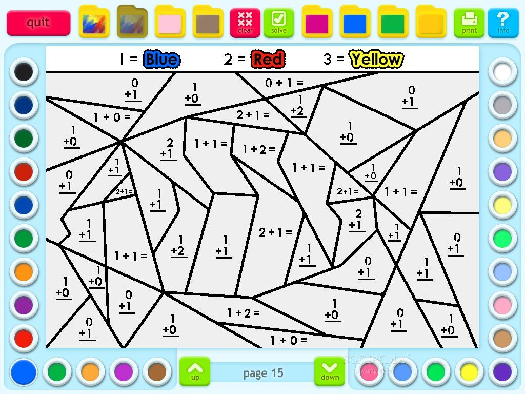 hight resolution of 7th Grade Math Coloring Beach Worksheets   Printable Worksheets and  Activities for Teachers