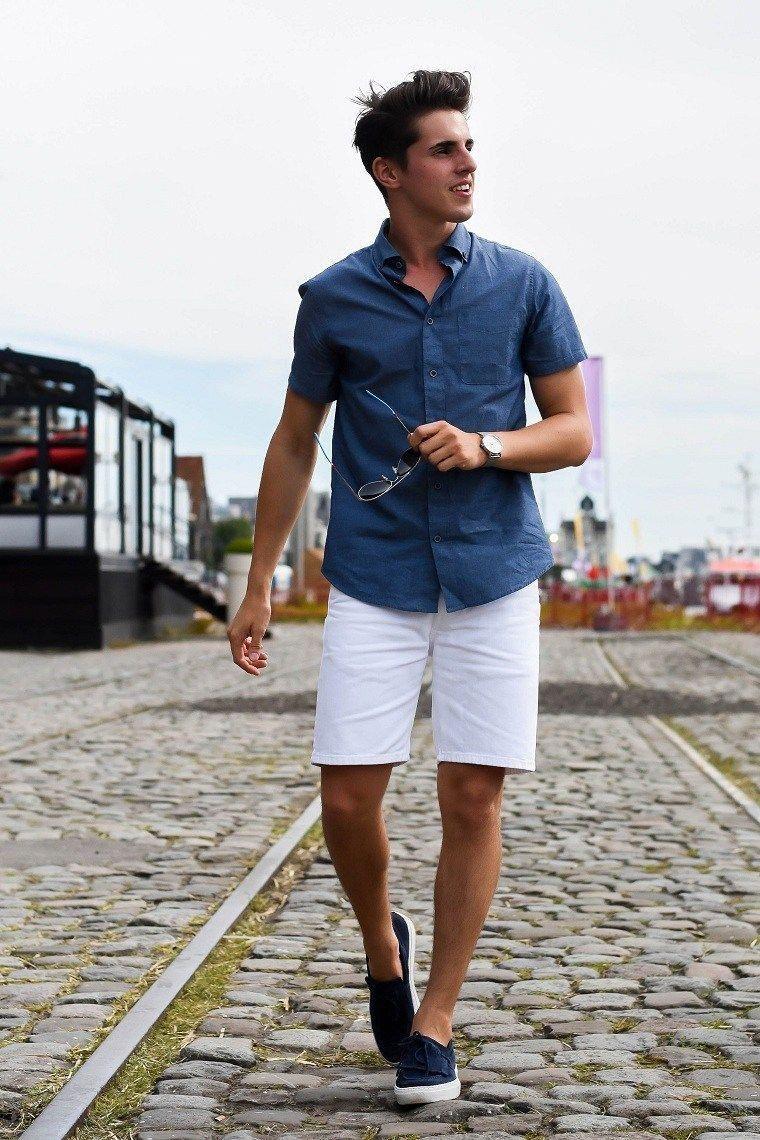 Ropa De Moda Para Hombre Tendencias Del 2018 Que No Deben Perderse Verano Invierno Outfits Moda Hombre Verano Moda Ropa Hombre Moda De Verano Para Hombre