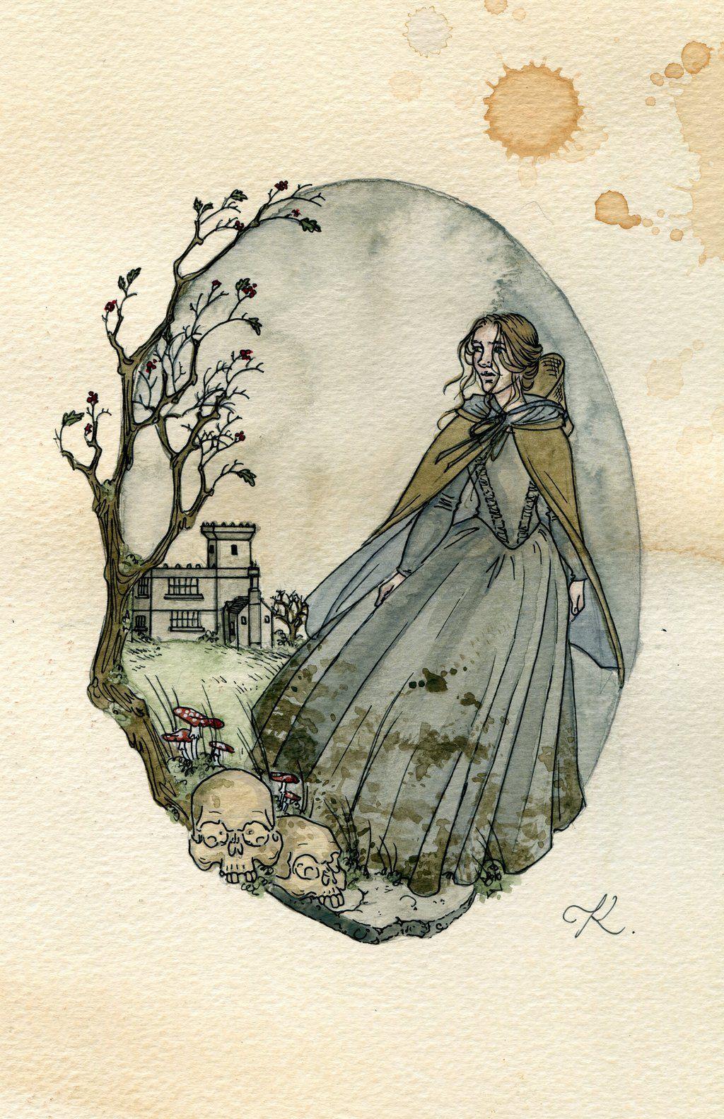 kittygrimm | Jane eyre, Literature art, Drawings
