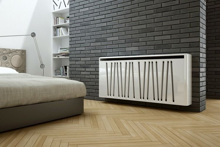 heizk rperverkleidung idee mit diagonalen linien. Black Bedroom Furniture Sets. Home Design Ideas