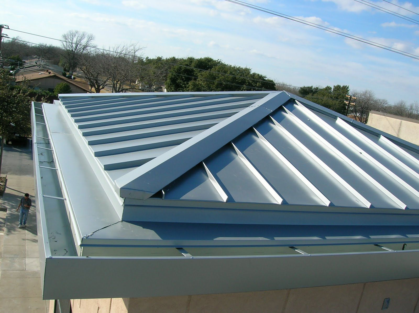 Painted Metal Roofing & Siding Metal roof installation