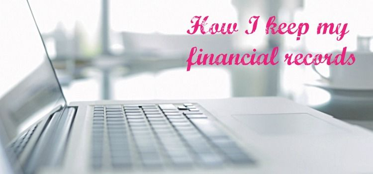How I keep my #financial records http://www.thevahandbook.com/keep-financial-records/