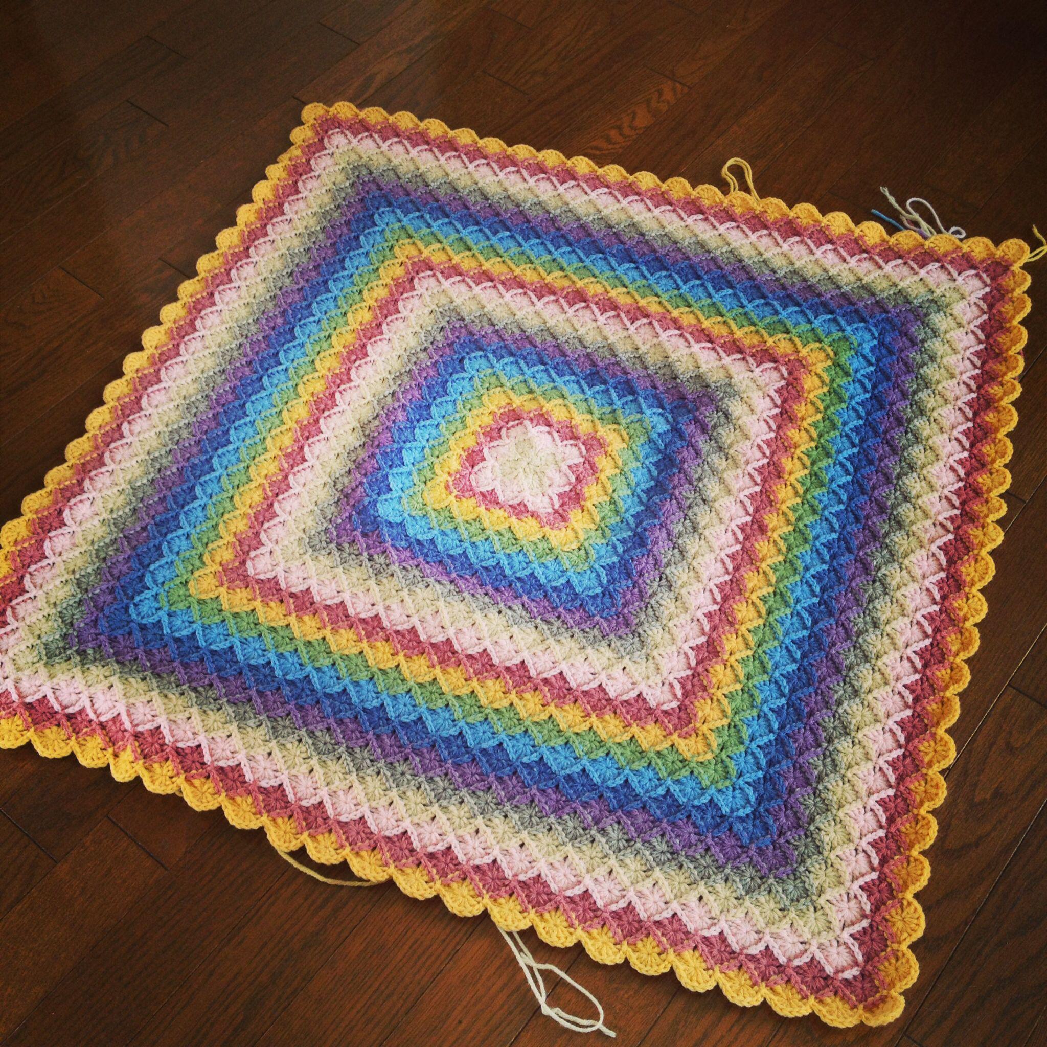 Bavarian crochet blanket | 編み物 | Pinterest | Bavarian crochet ...