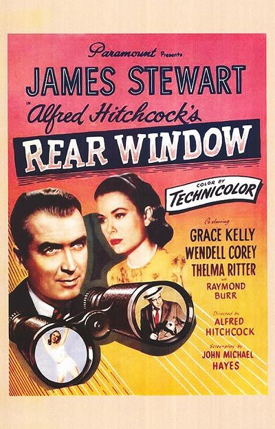 Hitchcock Classic Movie Posters Old Movies Rear Window Movie