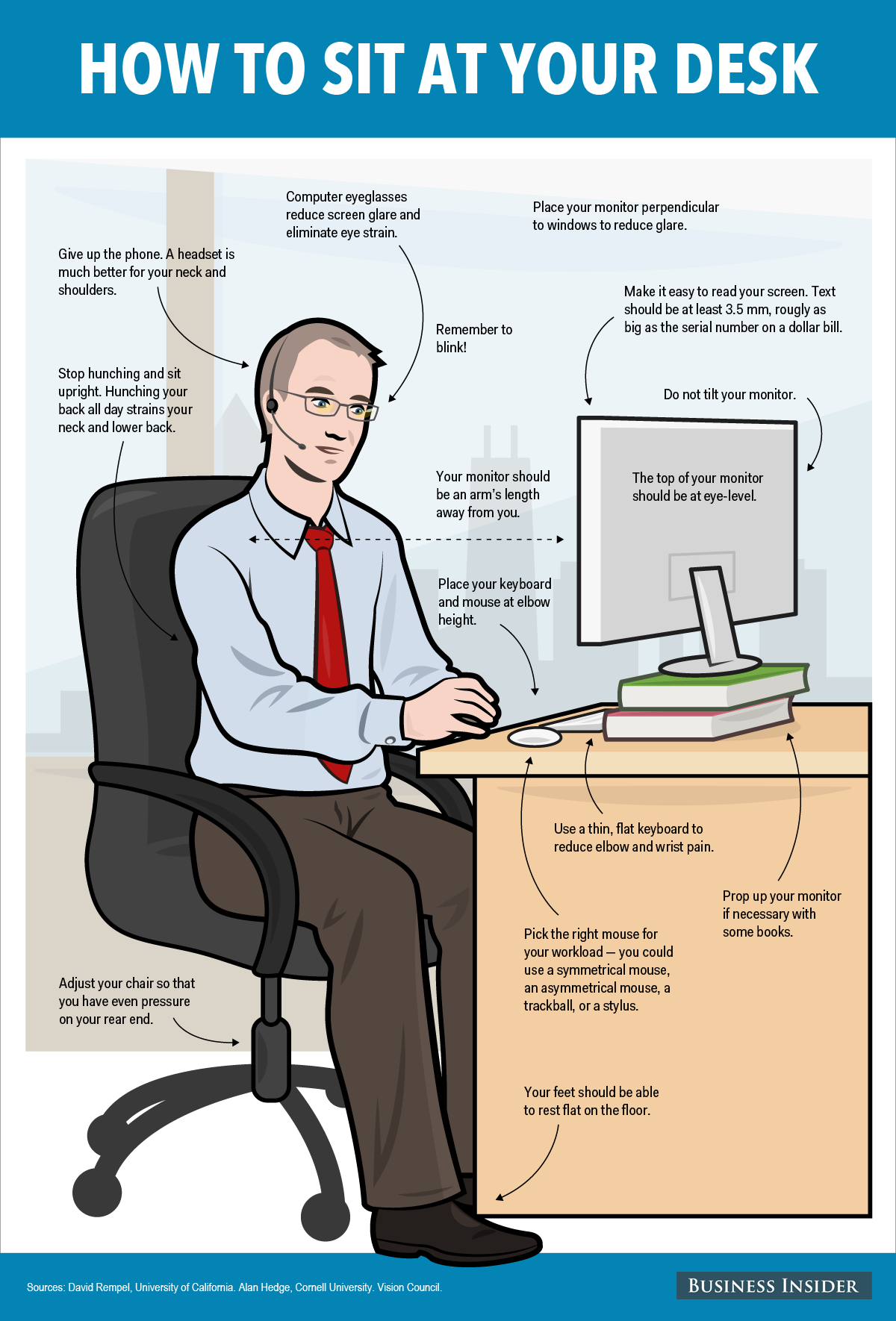 Terrific This Is The Perfect Way To Sit At Your Desk Eye Strain Beatyapartments Chair Design Images Beatyapartmentscom
