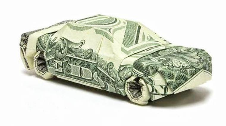 des origami avec des billets de banque image weird. Black Bedroom Furniture Sets. Home Design Ideas