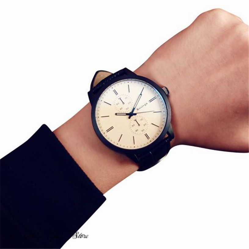 $2.56 (Buy here: https://alitems.com/g/1e8d114494ebda23ff8b16525dc3e8/?i=5&ulp=https%3A%2F%2Fwww.aliexpress.com%2Fitem%2F2016-relogio-Reloj-Watch-Men-Women-Clock-Unisex-lover-Male-And-Female-Students-Minimalist-Fashion-Personality%2F32782972719.html ) 2017 relogio Reloj Watch Men Women Clock Unisex lover  Male And Female Students Minimalist Fashion Personality Big Dial 1220d40 for just $2.56