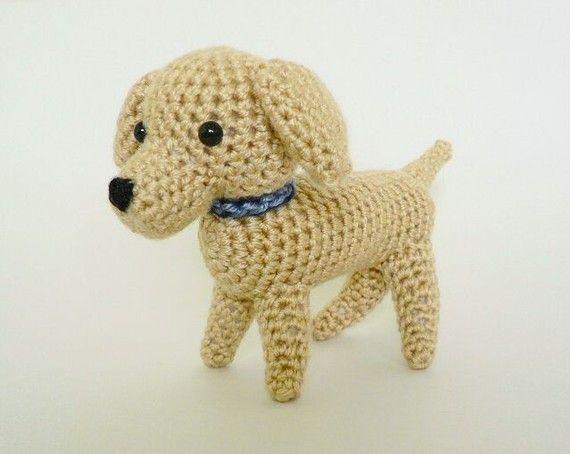 Pdf Amidogs Labrador Amigurumi Dog Crochet Pattern Pinterest