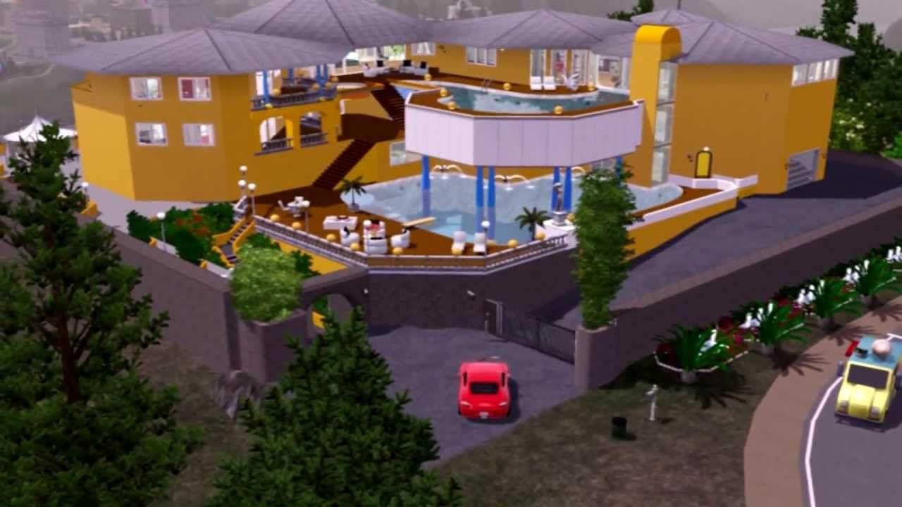 The Sims 3 Villa Colani Villa, House styles, Mansions