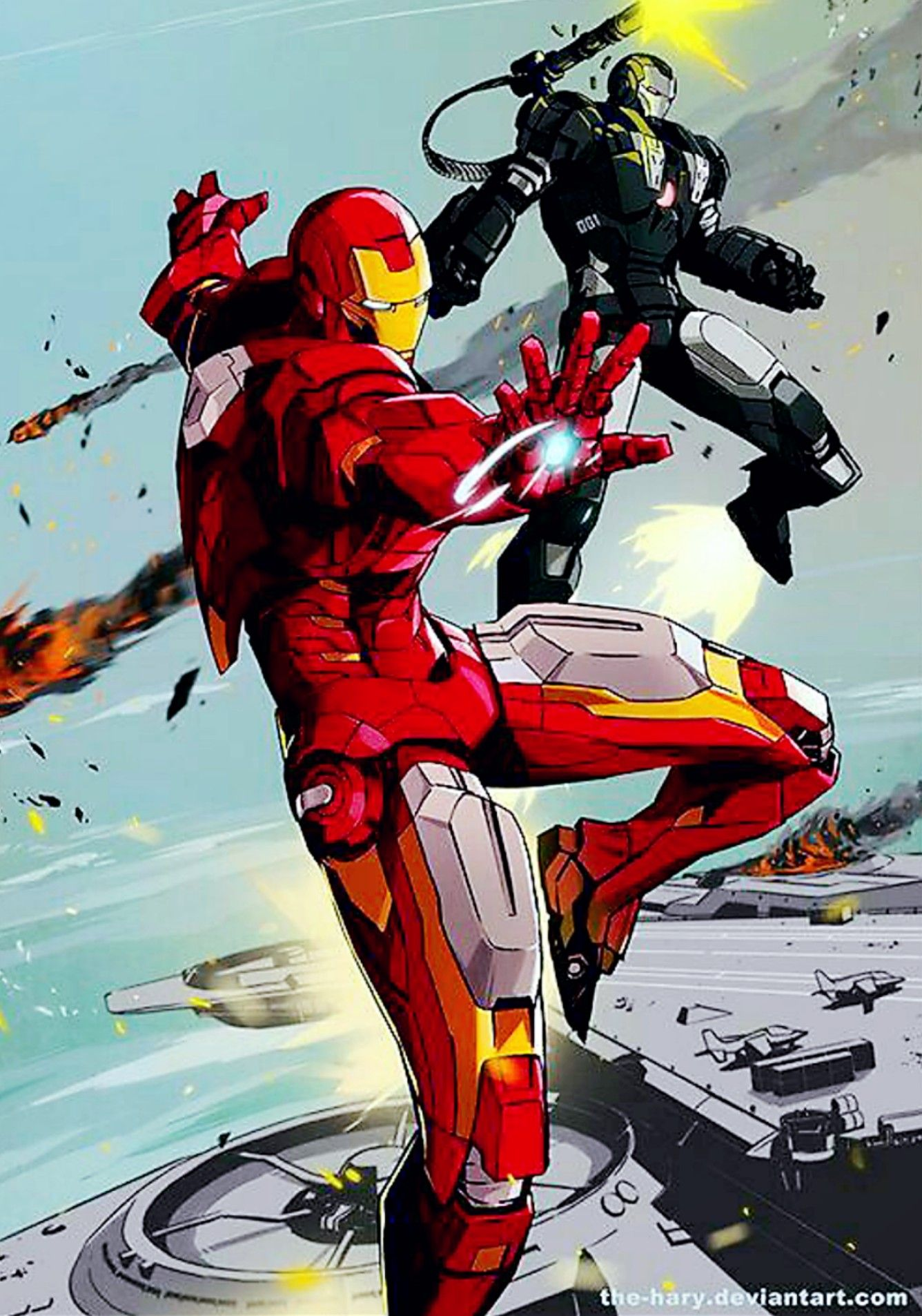 Ironman X War Machine Ironman Marvel Avengers Iron Man Art Iron Man Marvel Iron Man