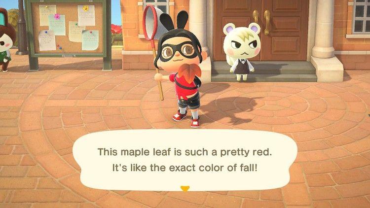Animal Crossing New Horizons Fall Maple Leaf Diy Recipe List Polygon Animal Crossing Diy Food Recipes Maple Leaf