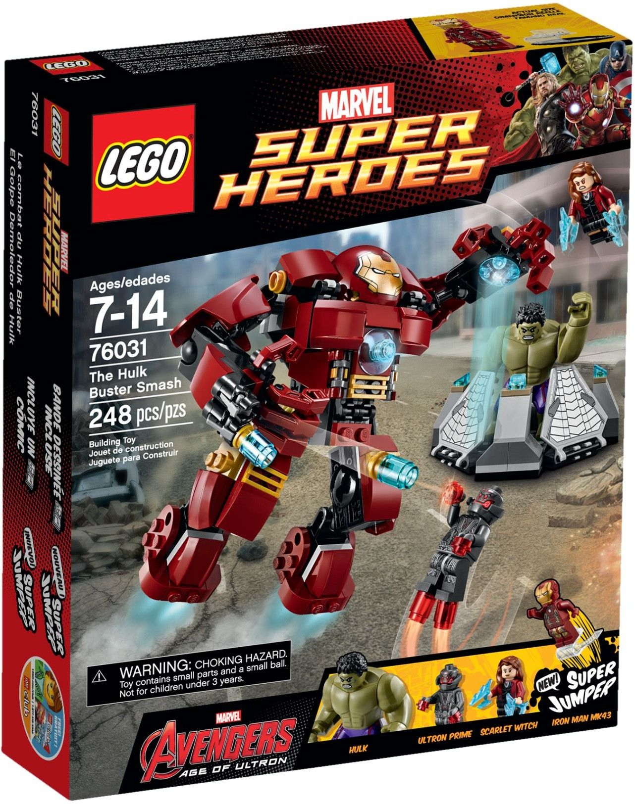 Lego Marvel 76031 The Hulk Buster Smash Lego Marvel Lego Super Heroes Hulkbuster