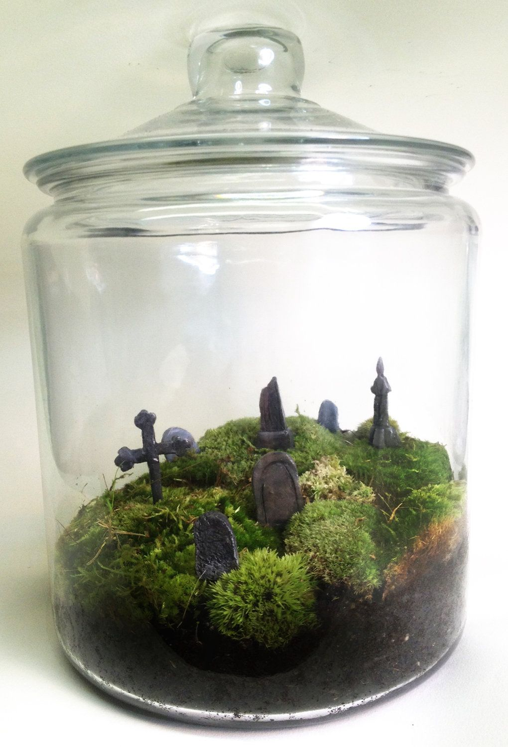 Large Creepy Graveyard Terrarium 70 00 Via Etsy My Etsy Addictions