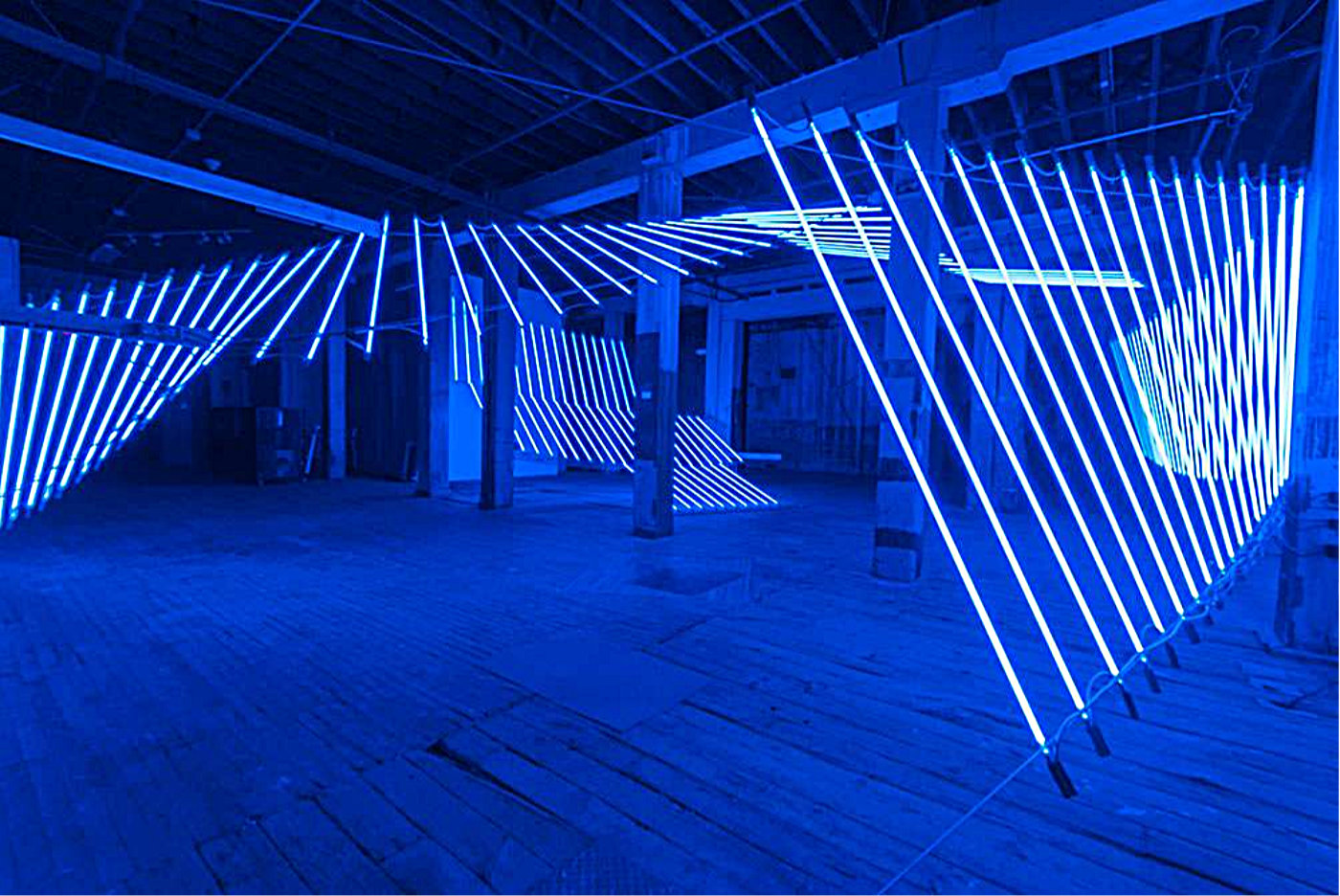 Sculptural Light Art Installations by Keith Lemley | Inspiration Grid