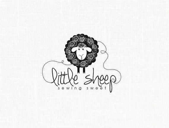 Photo of Kids Clothes Logo – Little Sheep Logo Design Sewing Logo Fabric Logo Clothing Logo Design Kids Logo Watermark