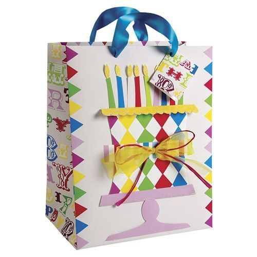 Party Ark's 'Birthday Cake Large Gift Bag'